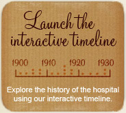 Explore the history of the hospital using our interactive timeline.