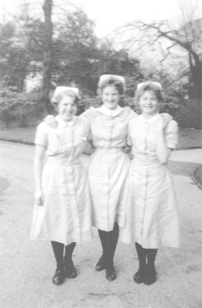 Doncaster Gate Heritage Project Poem When Nurses Look  : 1960 Anne Atckinson Denise Akid Diane Hague Makepeace Fairfield Nurses Training School from www.doncastergateheritage.org.uk size 394 x 600 jpeg 28kB
